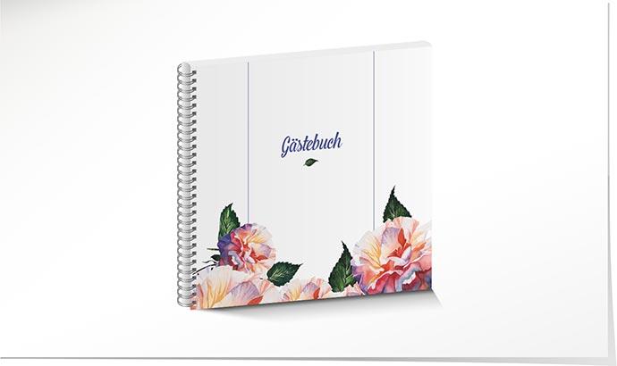 Gastebuch Hochzeit 765 Mit Blumen Schuch Verlag