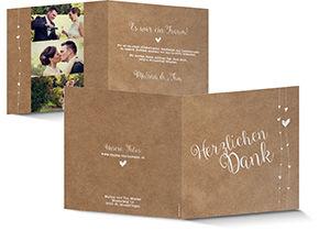 Dankeskarten Zur Hochzeit Selbst Gestalten Schuch Verlag