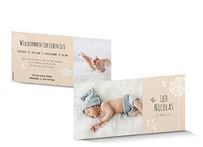 Geburtskarten zur geburt ihres babys sch ch verlag - Vintage geburtskarten ...