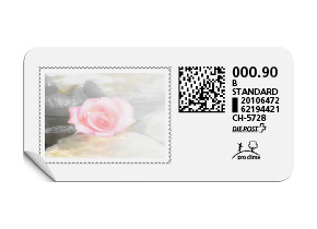 B-Post-Briefmarke «Harmonie»